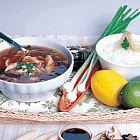 مرق الدجاج والذرة على الطريقة التايلنديّة