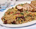 الأرز بالفرن مع الدجاج