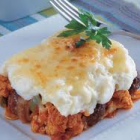 الفطيرة العربية بلحم الغنم والبطاطا
