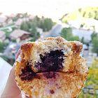 Muffins التوت  واللوز