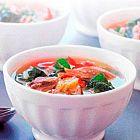 حساء الشمندر مع لحم الغنم