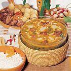 غورميه سابزي - مرق لحم الغنم والخضار