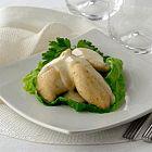 صدور الدجاج مع صلصة ألبرت