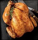 دجاج محشي بالأرز و اللحم المفروم