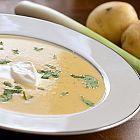 حساء البطاطا للنباتيين