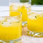 عصير الأناناس والليمون