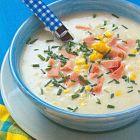 حساء الذرة