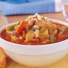 حساء الخضار الإيطالي