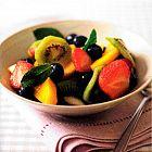 سـلطة الفاكهة بالفانيللا