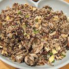 الأرز مع الفطر