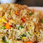 سلطة الأرز مع الخضار