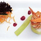 Lobster Salad With Beetroot Sauce