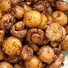 يخنة الفطر والبطاطا