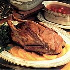 البط مع صلصة الكرز