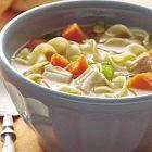 الحساء الإيطالي بالدجاج