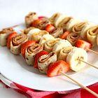 أشياش الكريب بالفاكهة