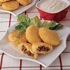 كبة البطاطا مع الأرز