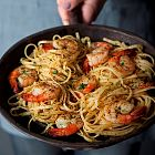 I love shrimps. I love pasta