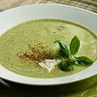 حساء الكوسا بالكريما
