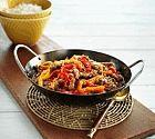 لحم العجل مع برش البرتقال