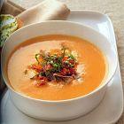 للإفطار: حساء البندورة باللحمة