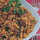 الفريكة مع كرات اللحم