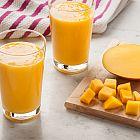 عصير المانغا باللبن