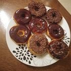 Donuts  مع الشوكولا
