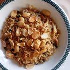 أرز مع اللوز والزبيب